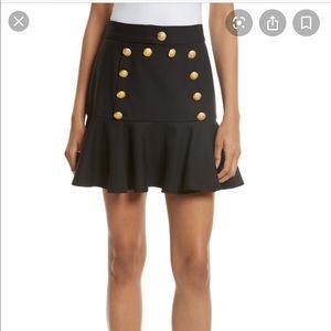 Veronica Beard Morrison Sailor Flounce Skirt